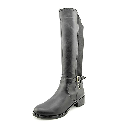 franco-sarto-country-damen-us-55-schwarz-mode-knie-hoch-stiefel