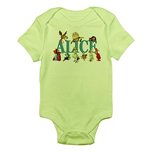 CafePress Alice Friends in Wonderland Infant Bodysuit