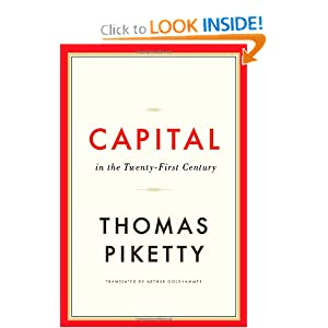 Capital in the Twenty-First Century by Thomas Piketty and Arthur Goldhammer
