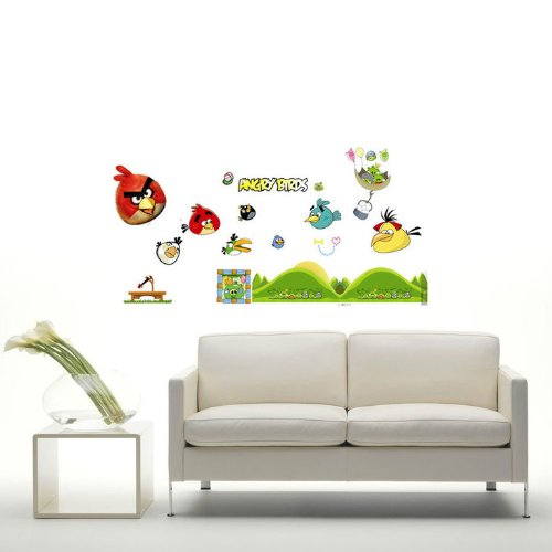get cheap modern house modern house angry bird i removable. Black Bedroom Furniture Sets. Home Design Ideas