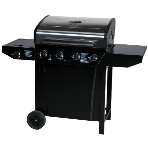 Char-Broil T480 4-Burner 48,000 BTU Gas Grill, with Side burner