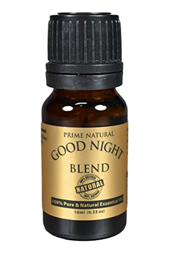 Good Night Essential Oil Blend 10ml (Comparable to Doterra Serenity Calming Blend and Young Living Peace & Calming Blend) 100% Natural Pure and Undiluted Premium Quality for Aromatherapy and Scents