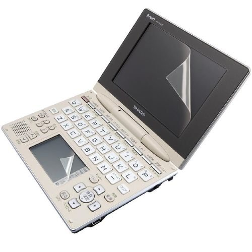 Elecom Electronic Dictionary For Lcd Protective Film Sharp Brain (1 Piece Of One Piece Handwriting Panel For Main Lcd) Djp-Tp014 (Pw-Ac900) Corresponding (Japan Import)