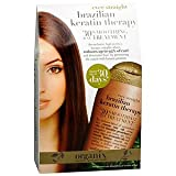 Organix Brazilian Keratin Therapy 30 Day Smoothing Treatment 3.38 fl oz (100 ml)