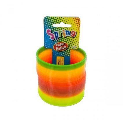 Ja-Ru Super Action Rainbow Slinky Spring - 1