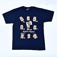 オリックス バファローズ x ポンタ コラボ Tシャツ いろいろポンタ 紺 Mサイズ