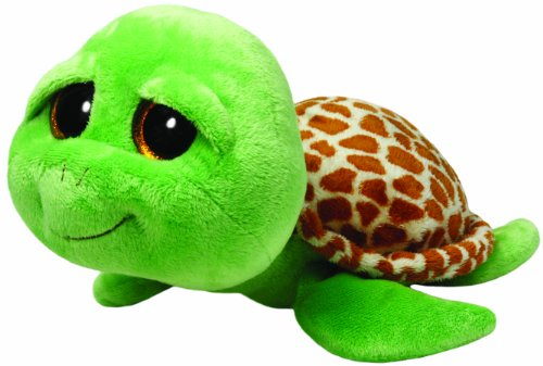 Ty Beanie Boos Buddies Zippy Green Turtle Medium Plush - 1