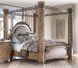 Crown Post Canopy Bed