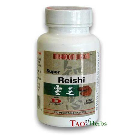 Reishi Super + D Fraction Mushroom Wisdom (Formerly Maitake Products) 120 Vegtab