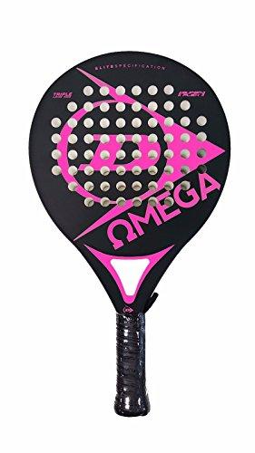 Dunlop Omega - Pala de pádel, color fucsia