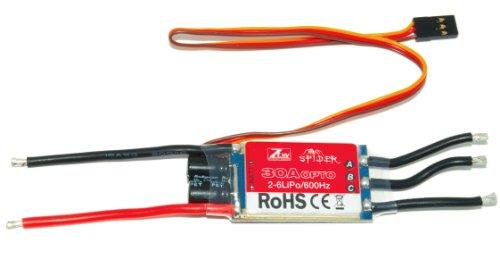 Ztw Spider 30A Opto 2-6S Lipo 600Hz Simonk Esc
