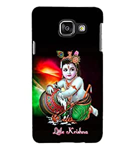 PRINTSHOPPII LORD KRISHNA Back Case Cover for Samsung Galaxy A3 (2016) Duos