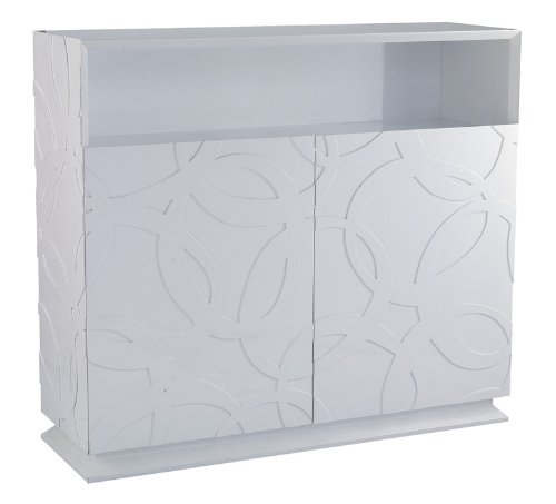 Cheap Modern Glossy White Buffet – Othello (VGWCTEM-8P018)