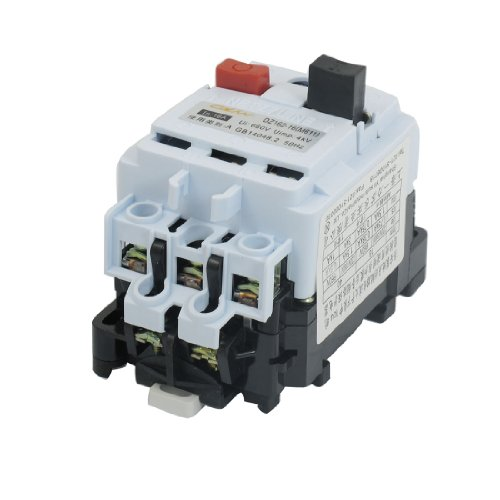 Dz162-16 Ac 660V 9.5A-16A Adjustable 3 Pole Din Rail Switch Circuit Breaker front-162723