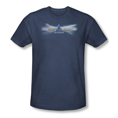 Seaquest Dsv Science Fiction Tv Series Nbc Logo Adult Heather T-Shirt Tee