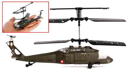 Aircraft Tool Supply Black Hawk Micro Rc Helicopter