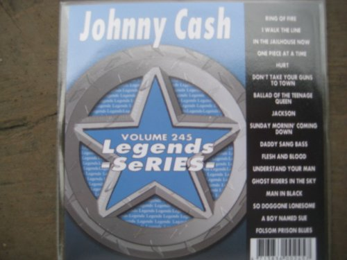 Why Choose The LEGENDS #245 Karaoke CDG All Hits of JOHNNY CASH