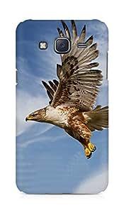 Amez designer printed 3d premium high quality back case cover for Samsung Galaxy J5 (Eagle)