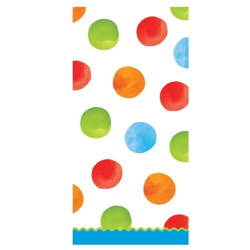 Primary Dots Cello Bags (20) Party Supplies