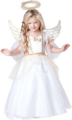 InCharacter Baby Girl's Angel Costume