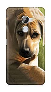 Amez designer printed 3d premium high quality back case cover for LeEco Letv Le Max (Dog)