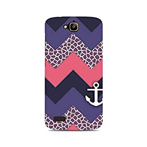 Ebby Chevron Anchored Premium Printed Case For Huawei Honor Holly