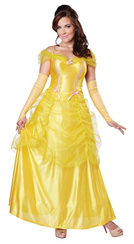 Halloween 2017 Disney Costumes Plus Size & Standard Women's Costume Characters - Women's Costume CharactersCalifornia Costumes Women's Classic Beauty Fairytale Princess Long Dress Gown]