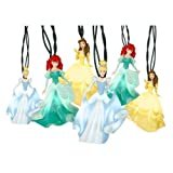 Decorative Disney Princess Christmas Dancing String Lights - Cinderella Belle and Ariel