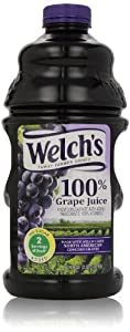 Welch's 100% Grape Juice, 64 Fl Oz