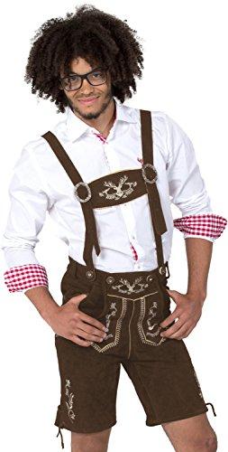 ALMWERK Allgäu -  Lederhosen  - uomo marrone L