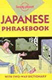 Kevin Chambers Lonely Planet : Japanese Phrasebook