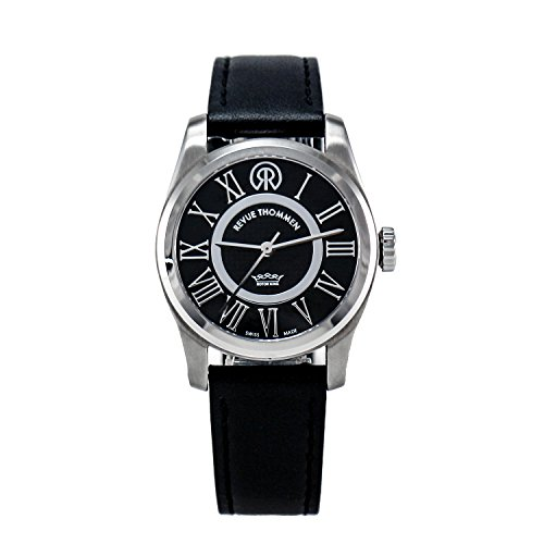 REVUE-THOMMEN-Womens-1040102-Millennium-Classic-Analog-Display-Swiss-Automatic-Black-Watch