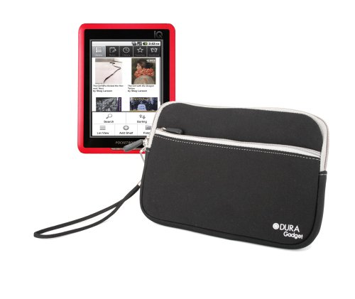 Protective eReader Sleeve For Pocketbook Pro 602, IQ 701, 360° With Wrist Strap By DURAGADGET from Electronic-Readers.com