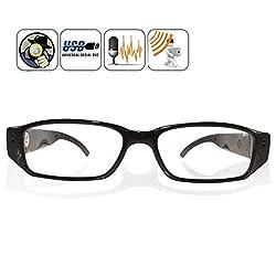 Krazzy Collection HD 720 Pixel Video Camera Eyewear Glasses Mini DVR Camera /Sunglasses Camera