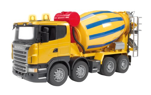 Bruder Scania R-Series Cement Mixer Truck Amazon.com