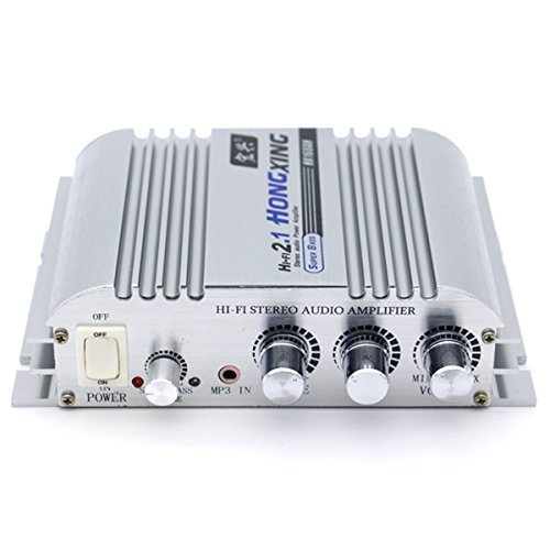 ELEGIANT 300W Super Bass Jeep Mini Amplifier