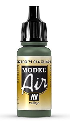 Vallejo Gunship Green Paint, 17ml - 1