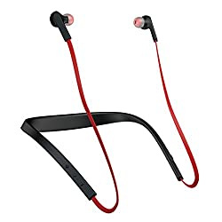 Jabra Halo Smart Wireless bluetooth in ear headset - Black and Red