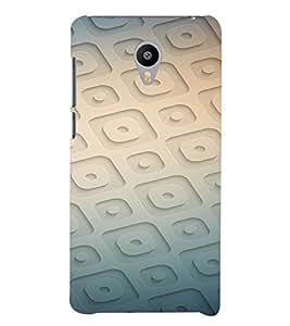 PrintVisa Modern Art Pattern 3D Hard Polycarbonate Designer Back Case Cover for YU Yunicorn