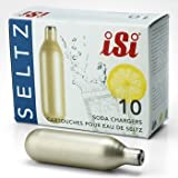 iSi 10-Pack Soda Chargers, Gold