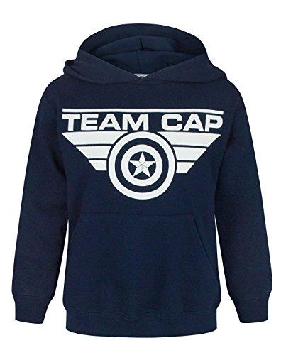 Unisexe-Enfant-Noisy-Sauce-Captain-America-Civil-War-Sweat--Capuche