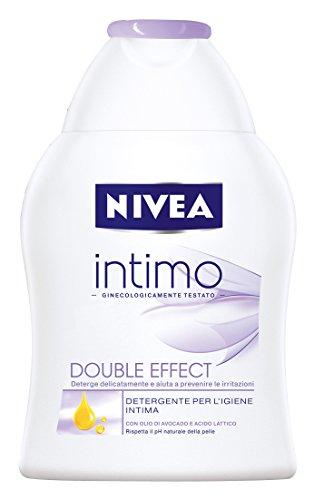 Nivea Intimo Double Effect - Detergente Per L'Igiene Intima Con Olio Di Avocado E Acido Lattico - 250Ml