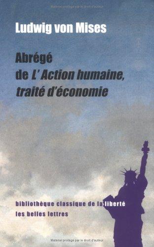 Abrégé de L'Action humaine, traité d'économie