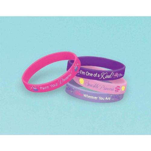 Rapunzel Rubber Bracelets 4ct