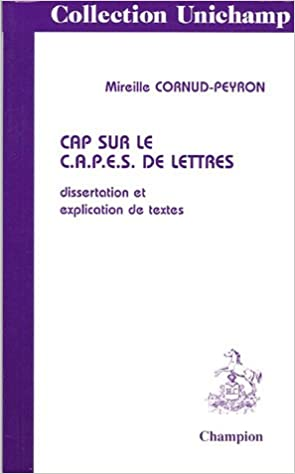 Annales capes lettres modernes dissertation