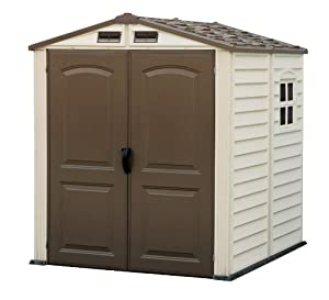 Duramax 30411 Store Mate Vinyl Shed with Floor, 6 by 6-Inch