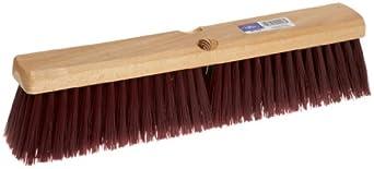 Magnolia Brush 2216 16-Inch Brown Plastic Line Garage Brush with B-60 Handle