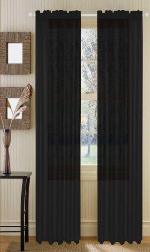 Voile curtains 90x90 - StoreIadore