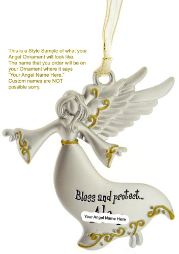 Bless & Protect My Baby - Pewter Ornament Communion Confirmation Gift