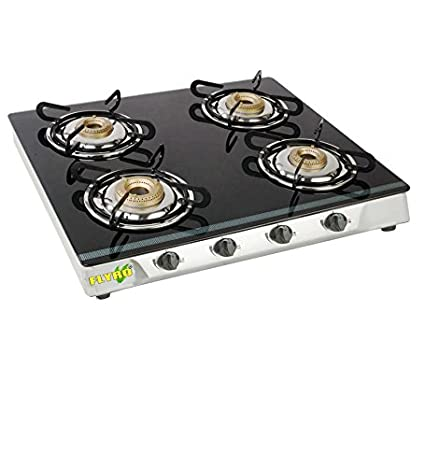 BB-SERIES Straight 4 Burner Cooktop